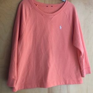 Ralph Lauren Polo light orange sweatshirt